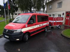 Svatováclavská mše a vysvěcení hasičského auta