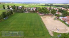 Výstavba víceúčelového hřiště