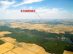 Letecké snímky Studence